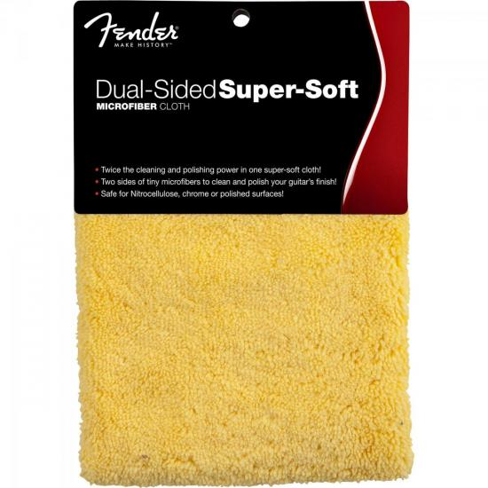 Flanela de Microfibra Dual-Sided Super-Soft FENDER