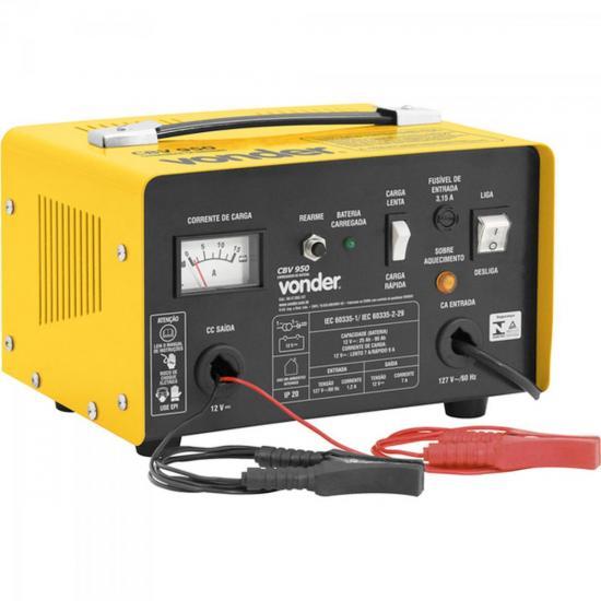 Carregador de Bateria 220V CBV950 Amarelo VONDER