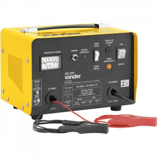 Carregador de Bateria 220V CBV1600 Amarelo VONDER