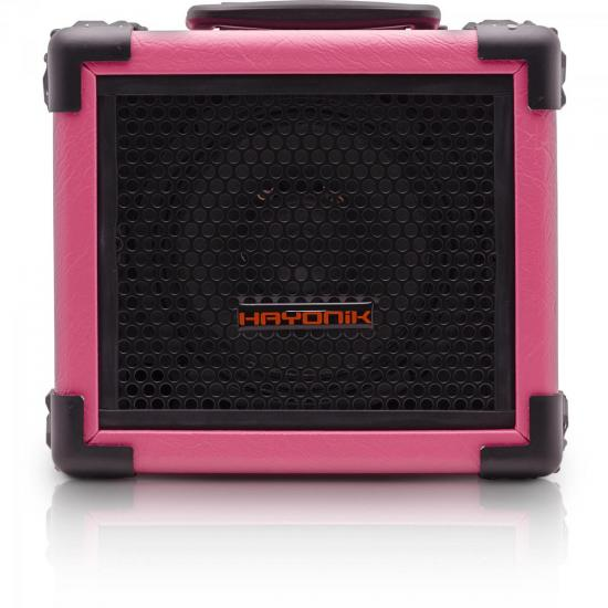 Caixa Multiuso 20W Bluetooth/USB/SD/FM IRON 80 Rosa HAYONIK