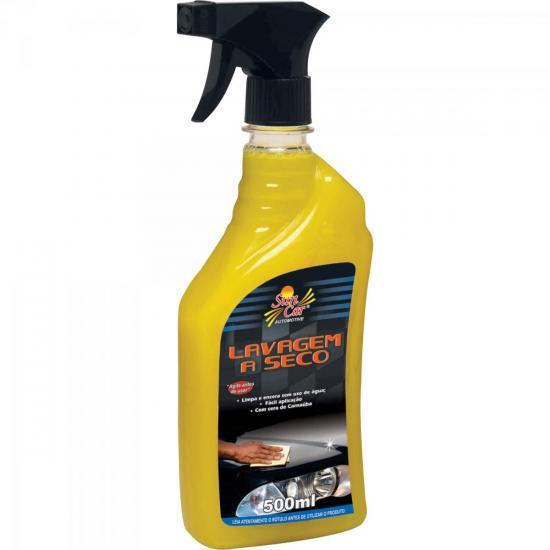 Lavagem a Seco 500ml Amarelo SUN CAR