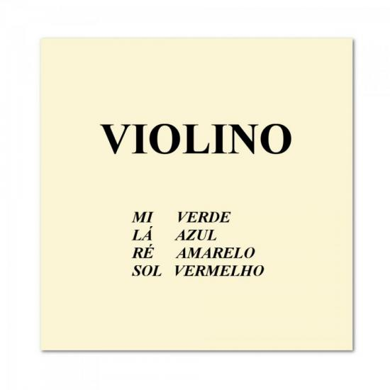 Encordoamento Para Violino Padrão 4/4 CALIXTO
