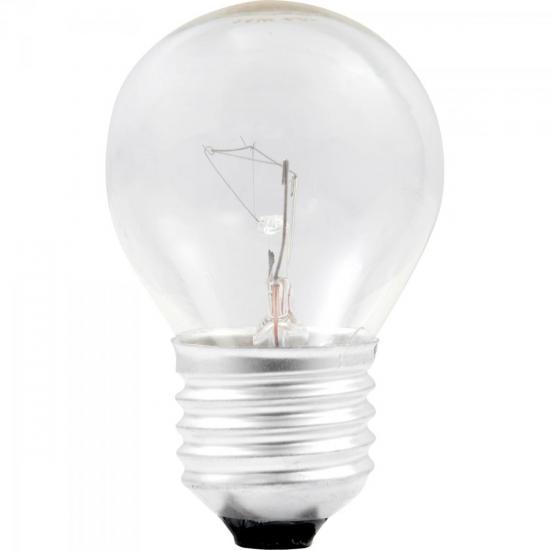 Lâmpada para Geladeiras ou Fogões 40W 220V E27 BG45 Clara BRASFORT
