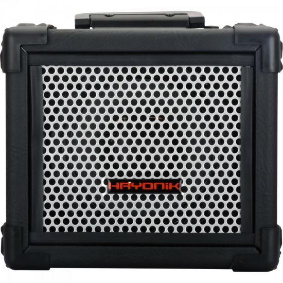 Caixa Multiuso 20W Bluetooth/USB/SD/FM com Bateria Interna IRON 80 Preta HAYONIK