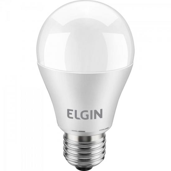 Lâmpada LED 10W Bivolt BULBO 6500K Branca Fria ELGIN