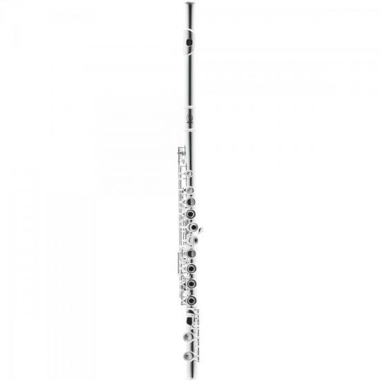Flauta Transversal C HFL-5237S Prateada HARMONICS