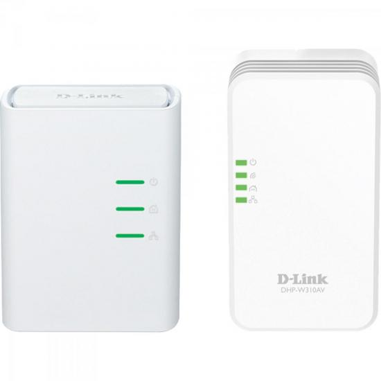 Kit Repetidor Roteador Wireless 300Mbps DHP-W311AV Branco D-LINK