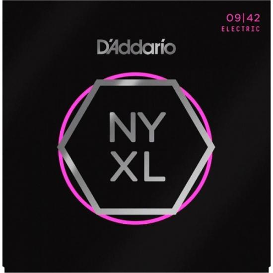 Encordoamento para Guitarra Aço NYXL 0.11 49M Niquelado D'ADDARIO