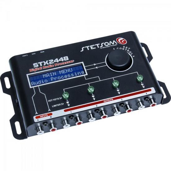 Processador de Áudio com 2 Entradas 4 Saídas STX2448 STETSOM