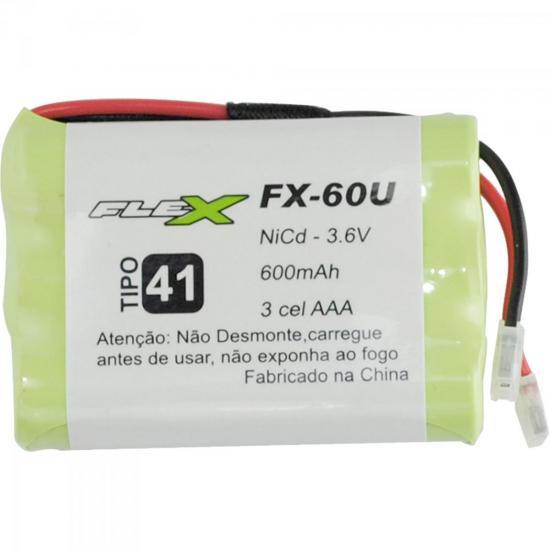 Bateria Universal Para Telefone sem Fio 600mAh 3,6V FX-60U FLEX