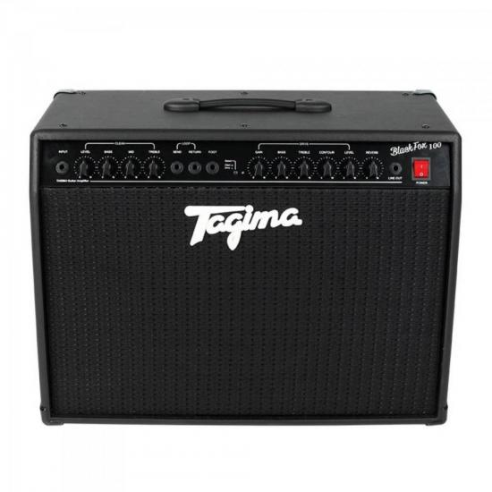 Cubo p/ Guitarra BLACK FOX 100 Preto TAGIMA