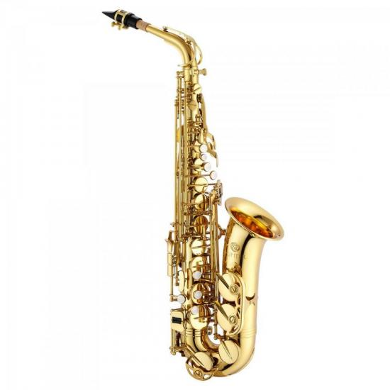 Saxofone Alto Eb JAS500 Dourado Laqueado JUPITER