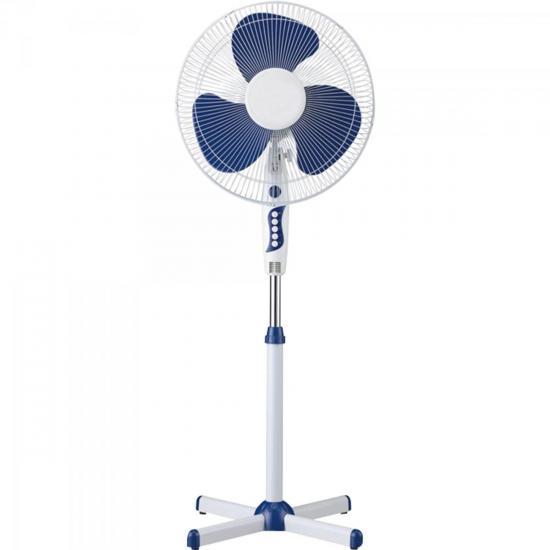 Ventilador de Coluna 40cm Oscilante 110V US16034/B1 Branco/Azul TURBO WAVE
