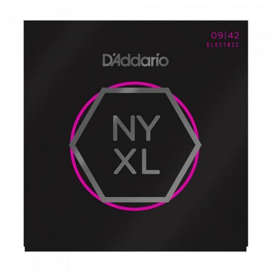 Kit Encordoamentos EXL120B + NYXL0942 + 10 Palhetas D'ADDARIO