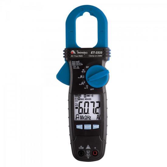 Alicate Amperímetro Digital ET3333 Azul/Preto MINIPA
