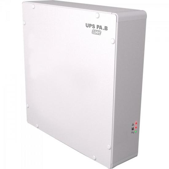 No-Break para Portão Eletrônico Bivolt UPS PA.S Branco RCG