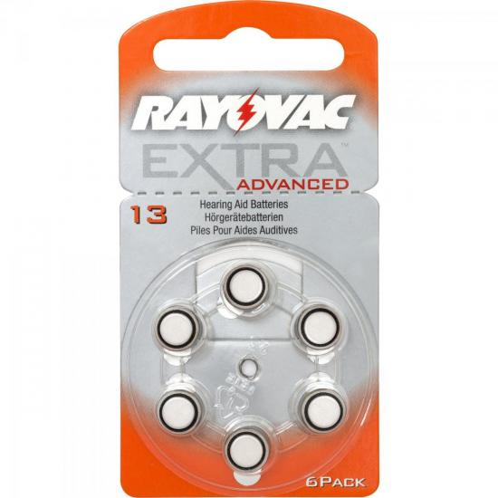 Pilha Auditiva 13 1,4V EXTRA ADVANCED RAYOVAC