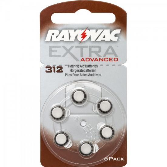 Pilha Auditiva 312 1,4V EXTRA ADVANCED RAYOVAC
