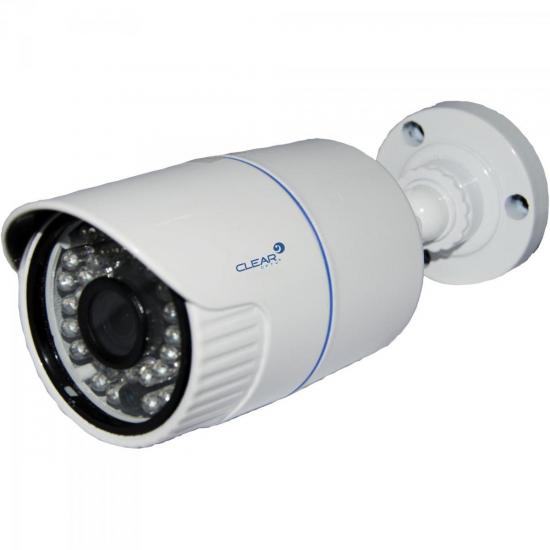 Câmera IP Bullet IR 36m 3,6mm 1.3MP 1.3MP-36L Branca CLEAR
