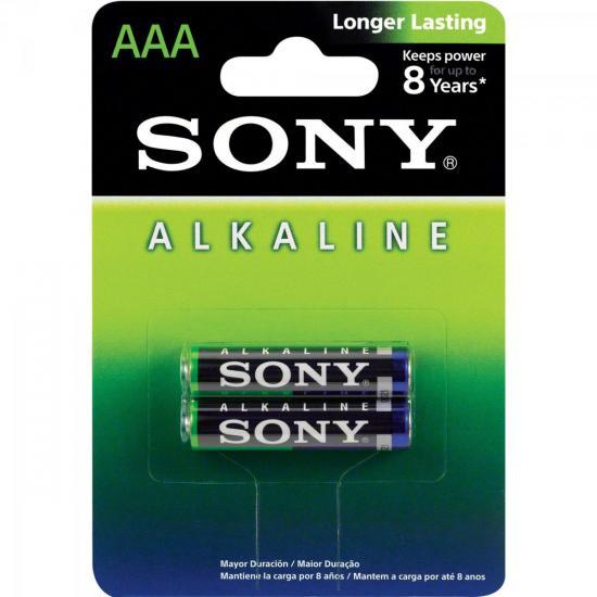 Pilha Alcalina AAA AM4L-B2D SONY