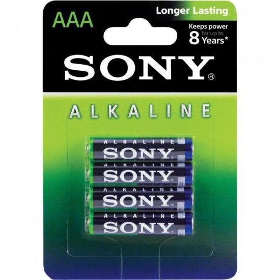 Pilha Alcalina AAA AM4L-B4D SONY