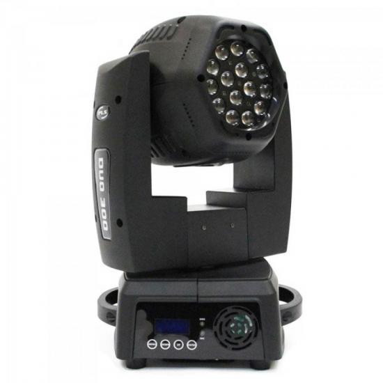 Aparelho de Iluminação 220V MOVING HEAD DUO300 FREE Prata PLS
