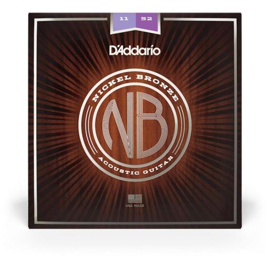 Encordoamentos Premium p/ Violão Aço NB1152 D'ADDARIO