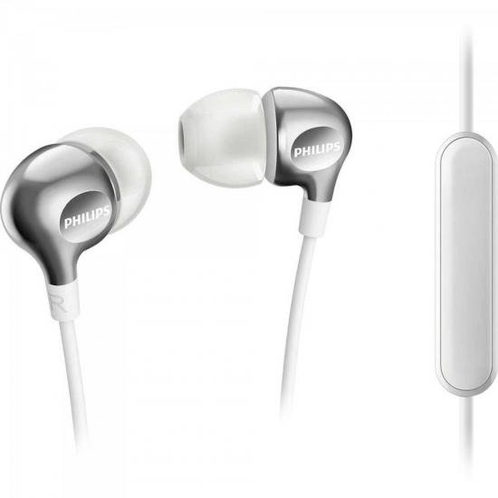 Fone de Ouvido Intra-Auricular c/ Mic SHE3705WT/00 Branco PHILIPS