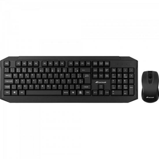 Combo Teclado + Mouse Wireless WCF-101 FORTREK
