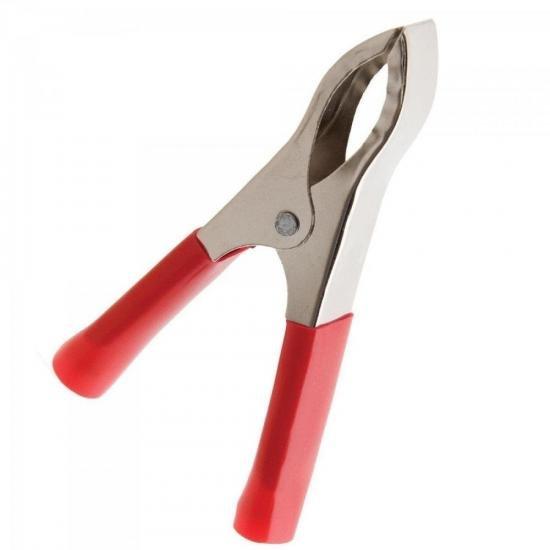 Garra de Jacaré 7,1cm 30A GRJC0003 Vermelha STORM