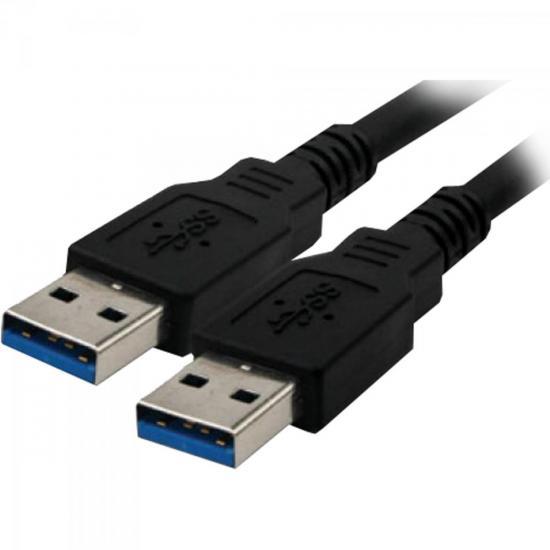 Cabo de Dados USB 3.0 A Macho x USB 3.0 A Macho 1,8m CBUS0011 Preto STORM