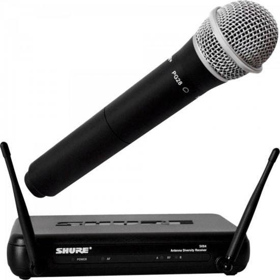 Sistema Microfone Sem Fio SVX24BR/PG28 SHURE
