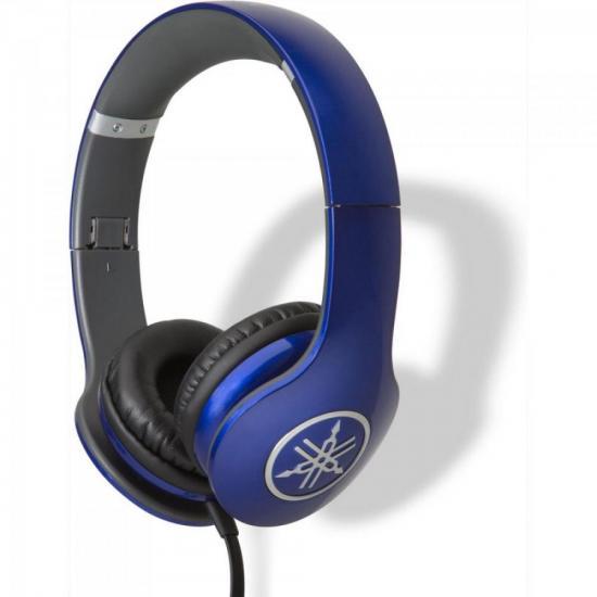 Fone de Ouvido com Graves Potentes e Microfone HPH-PRO300 Racing Blue YAMAHA