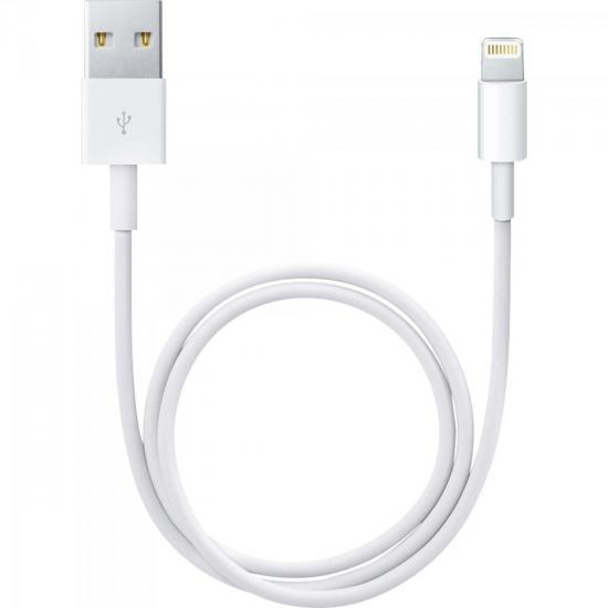 Cabo Para iPhone e iPad Mini USB 2.0 A Macho x Lightning 8 Pinos 1m CBCL0002 Branco STORM
