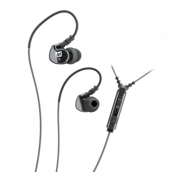 Fone de Ouvido Esportivo com Microfone Embutido M6P2 Preto MEE AUDIO