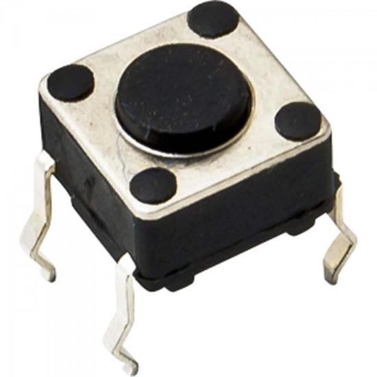 Chave Tactil Switch 4,3mm CHVS0020 Preta STORM