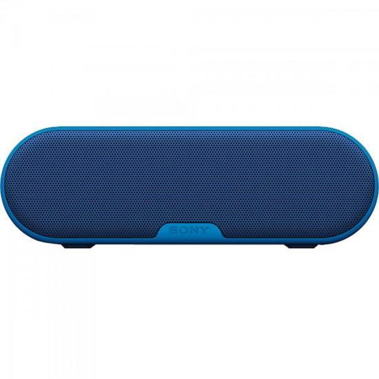 Caixa Multimídia 20W Wireless Bluetooth/NFC SRS-XB2/B Azul SONY