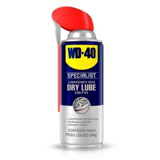 Lubrificante Seco Antiaderente com PTFE 330ml DRY LUBE SPECIALIST WD40