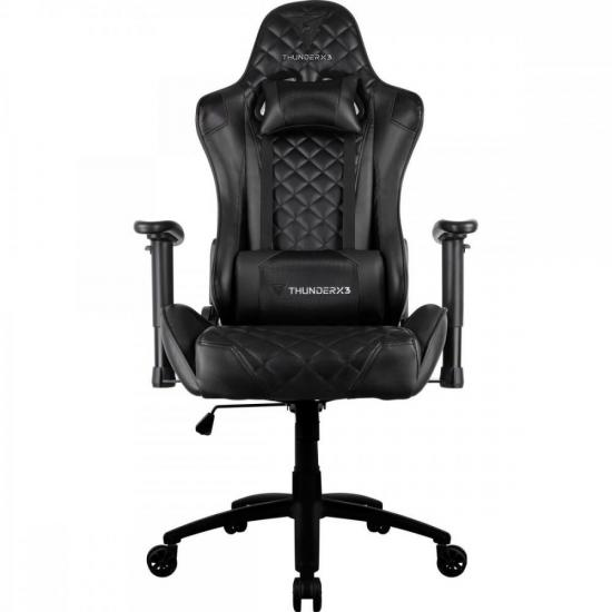 Cadeira Gamer Profissional TGC12 Preta THUNDERX3 (61900)