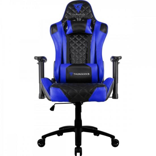 Cadeira Gamer Profissional TGC12 Preta/Azul THUNDERX3 (61902)
