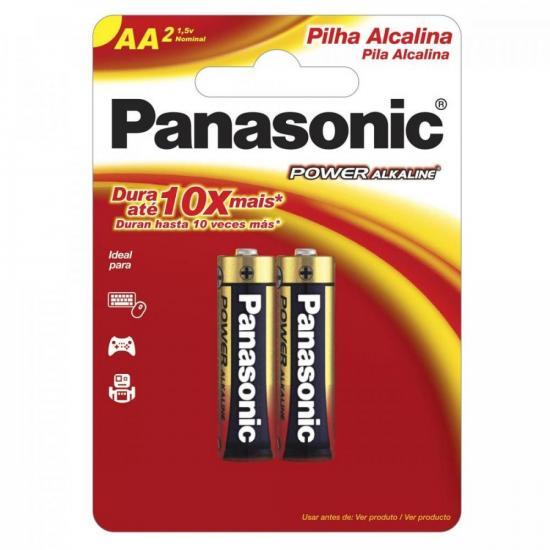 Pilha AA Alcalina LR6XAB/2B192 Cartela PANASONIC