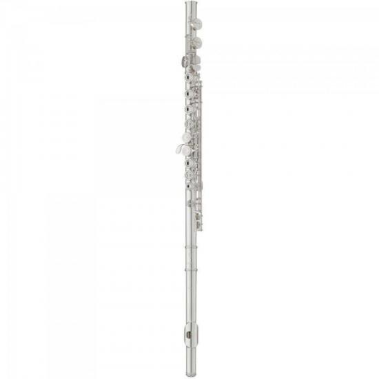 Flauta Transversal Estudante C YFL-222 Prata YAMAHA