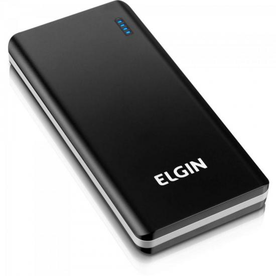 Carregador Portátil USB 10000mAh CP10K SLIM Preto/Cinza ELGIN