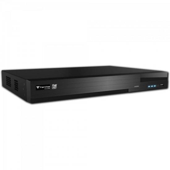DVR 4 Canais IP TW-E304 Preto TECVOZ