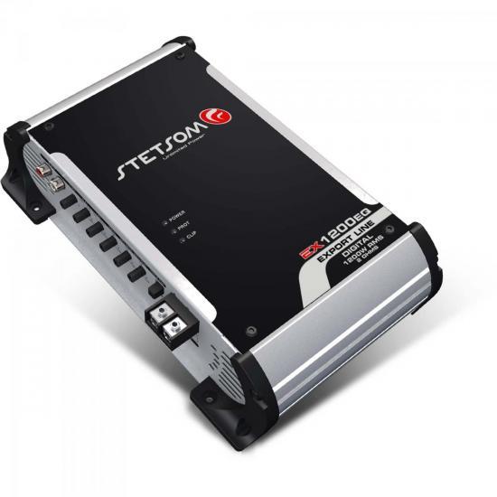 Módulo 1200W 2 Ohms EXPORT LINE EX1200EQ-2 STETSOM