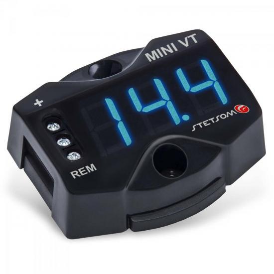 Mini Voltímetro Digital MINIVT Preto STETSOM