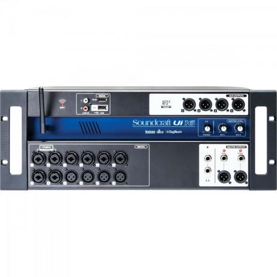 Mixer 16 Canais UI-16 SOUNDCRAFT