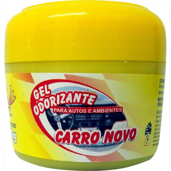 Gel Odorizador Automotivo Carro Novo 60g SUN CAR