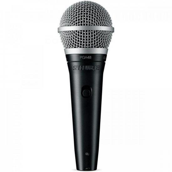 Microfone Vocal PGA48-LC Preto SHURE