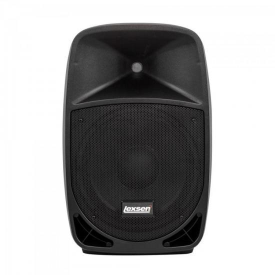 Caixa Acústica Ativa LX12 MP3 Preta LEXSEN